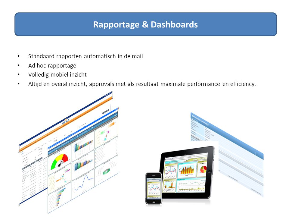 Rapportage & Dashboards