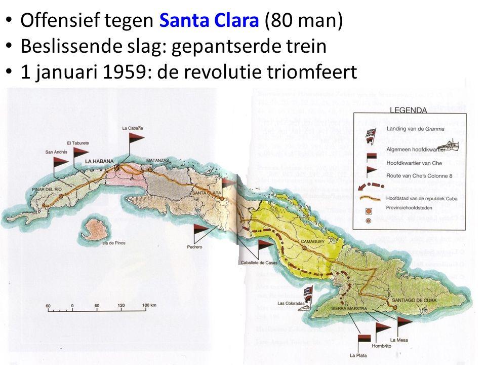 Offensief tegen Santa Clara (80 man)