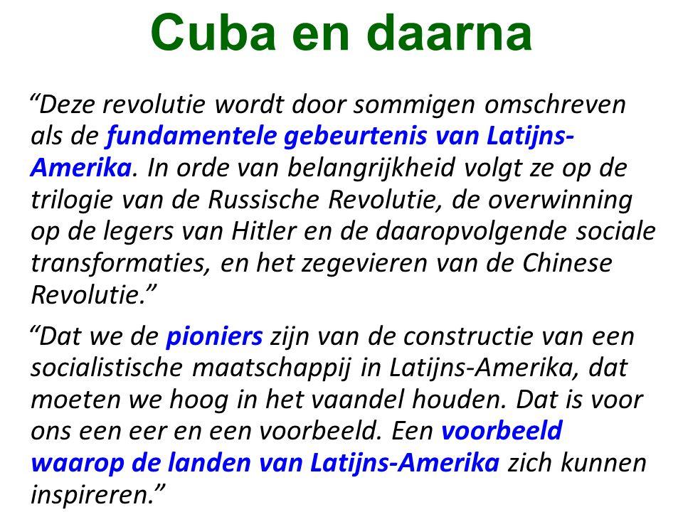 Cuba en daarna