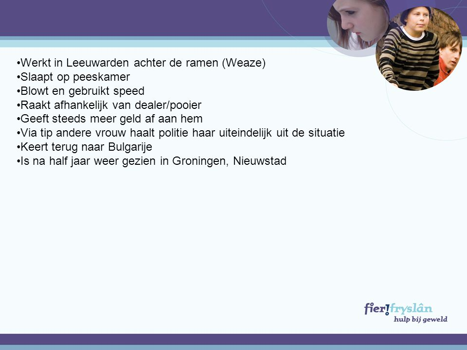 Werkt in Leeuwarden achter de ramen (Weaze)