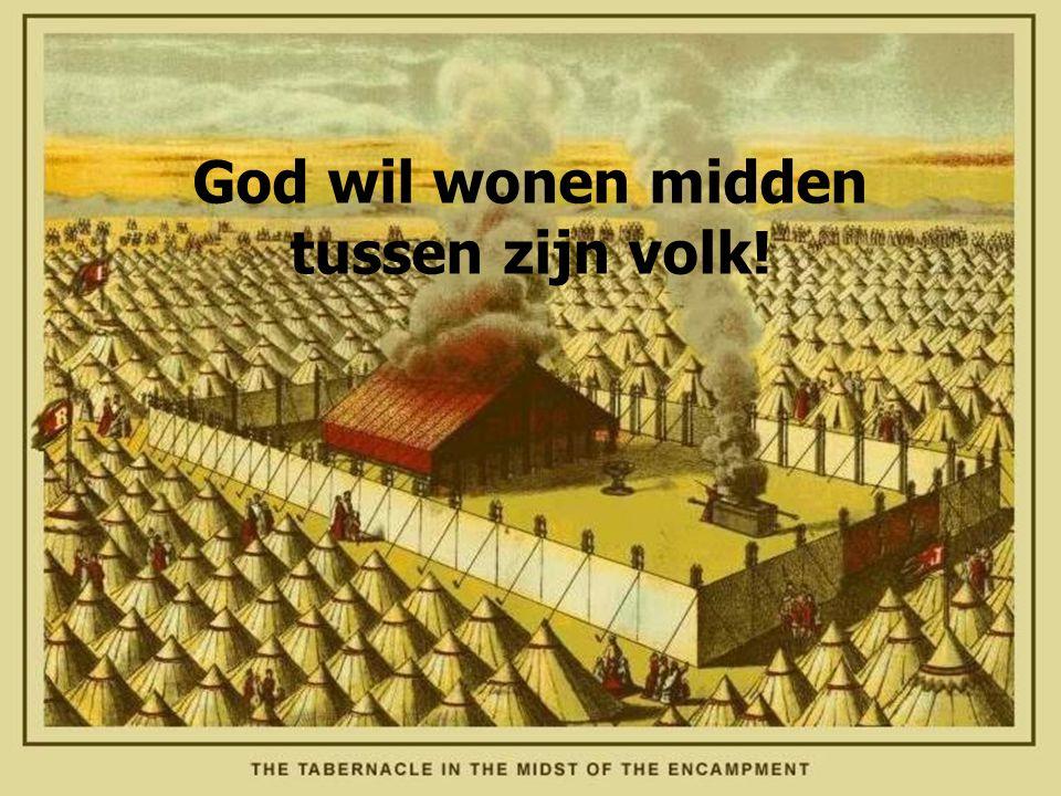 God wil wonen midden tussen zijn volk!