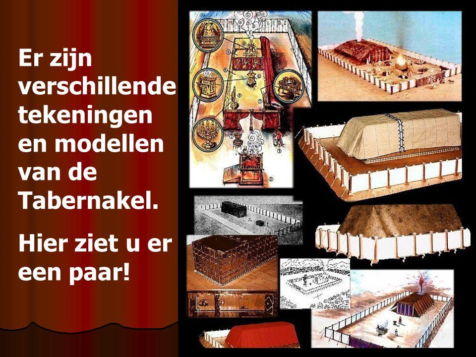 Er zijn verschillende tekeningen en modellen van de Tabernakel.