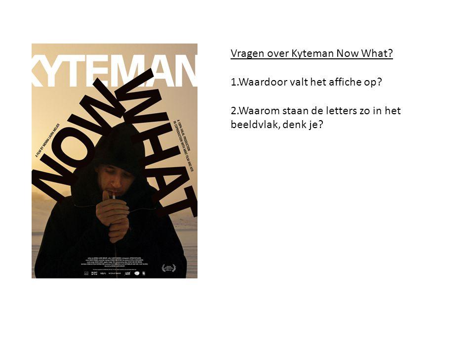 Vragen over Kyteman Now What