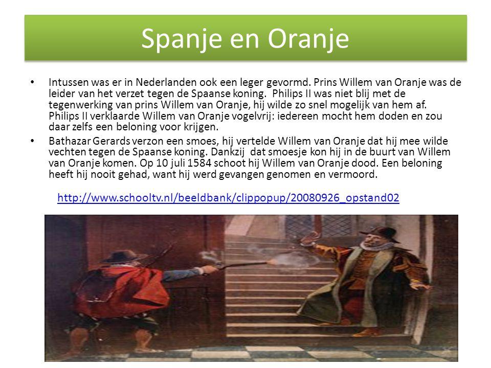 Spanje en Oranje
