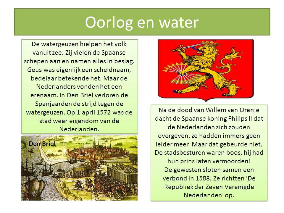 Oorlog en water