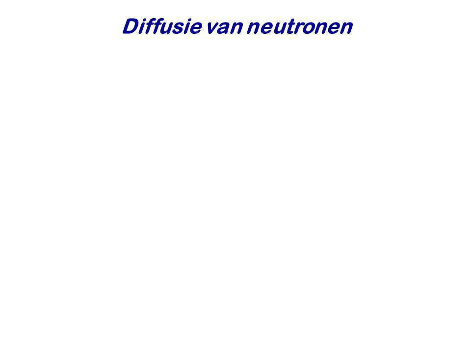 Diffusie van neutronen