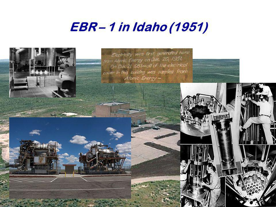 EBR – 1 in Idaho (1951)