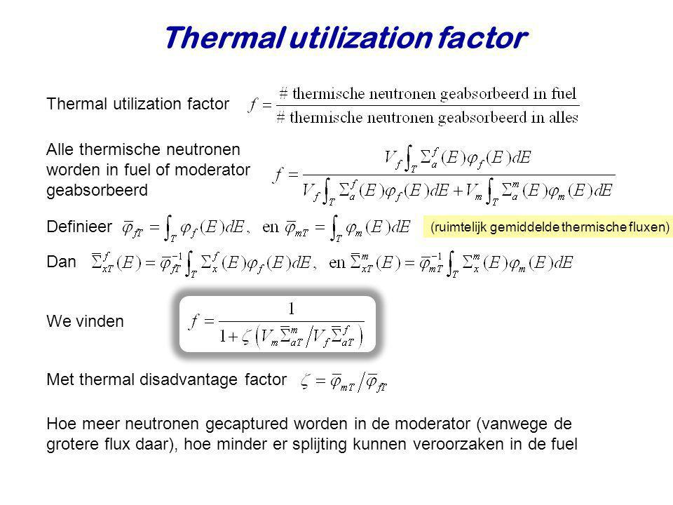 Thermal utilization factor