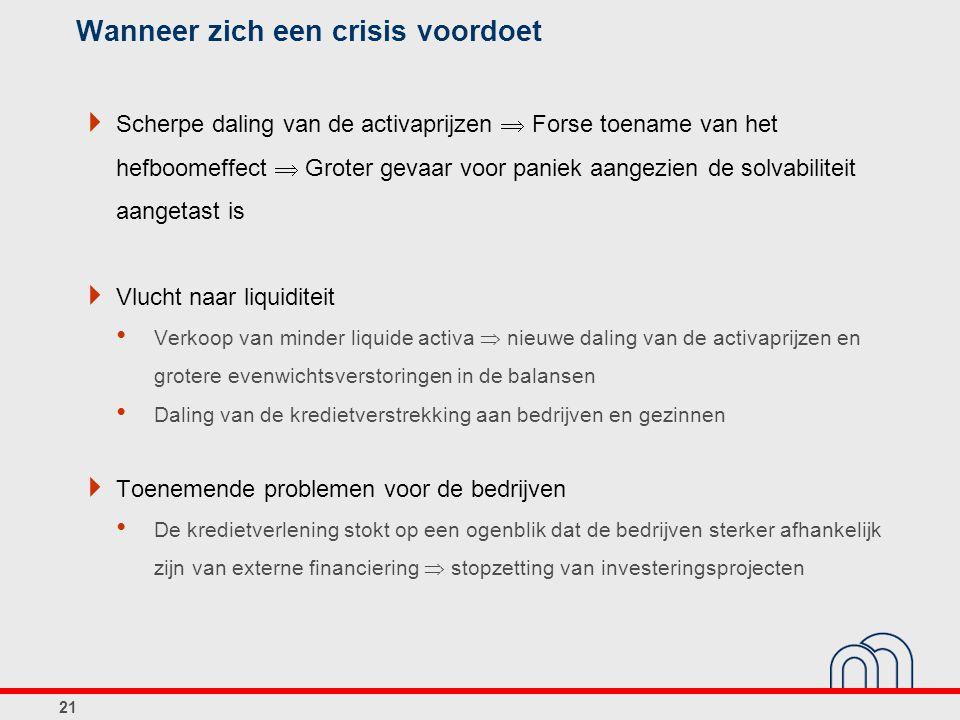 Wanneer zich een crisis voordoet