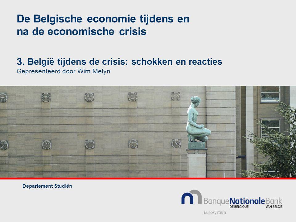 De Belgische economie tijdens en na de economische crisis 3