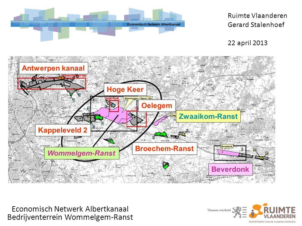 Economisch Netwerk Albertkanaal Bedrijventerrein Wommelgem-Ranst