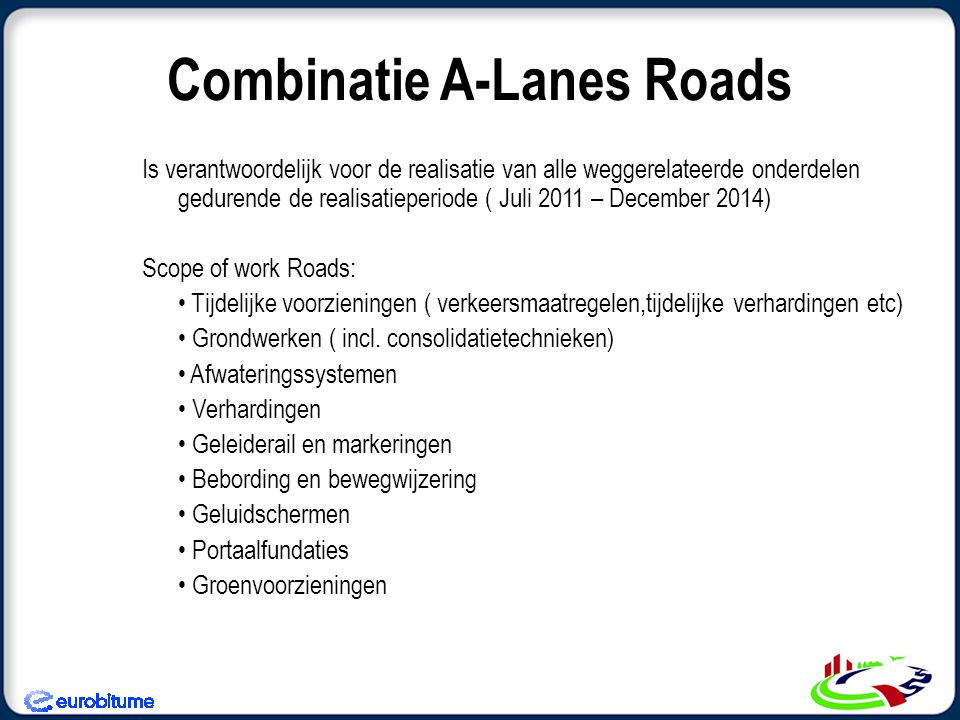 Combinatie A-Lanes Roads