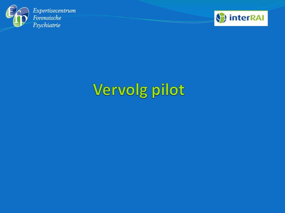 Vervolg pilot