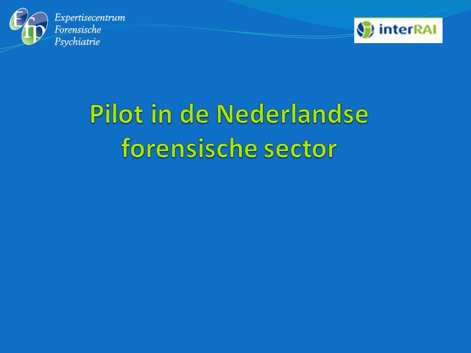 Pilot in de Nederlandse forensische sector