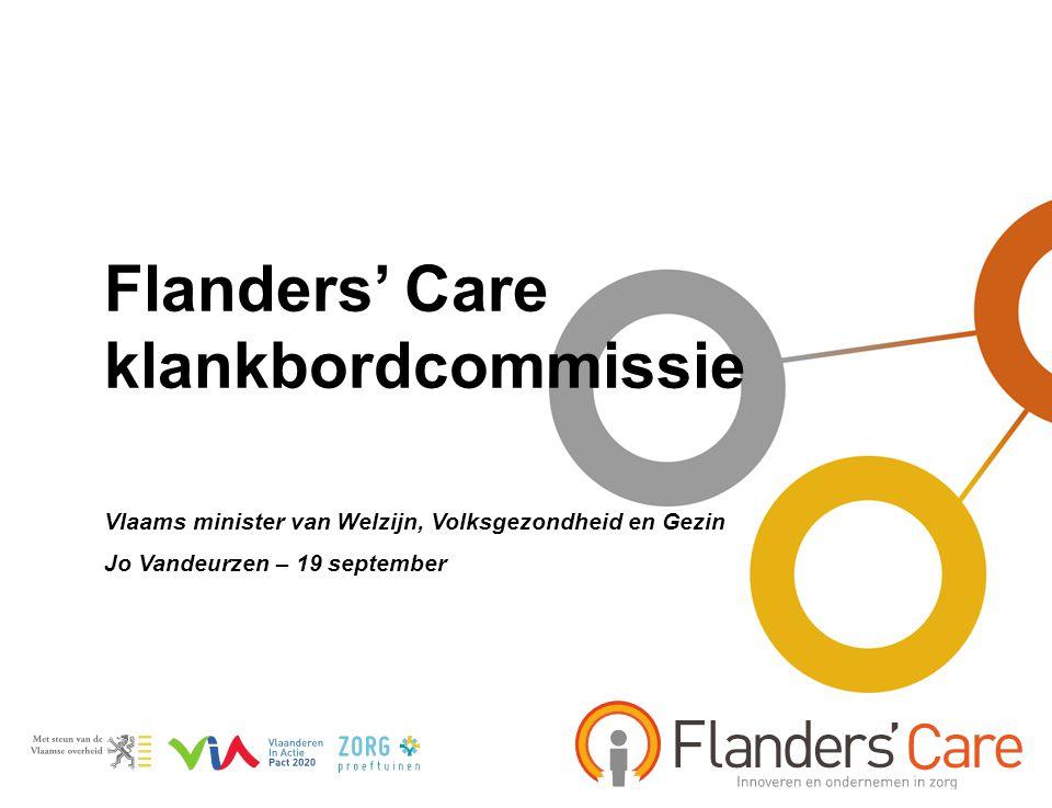 Flanders' Care klankbordcommissie