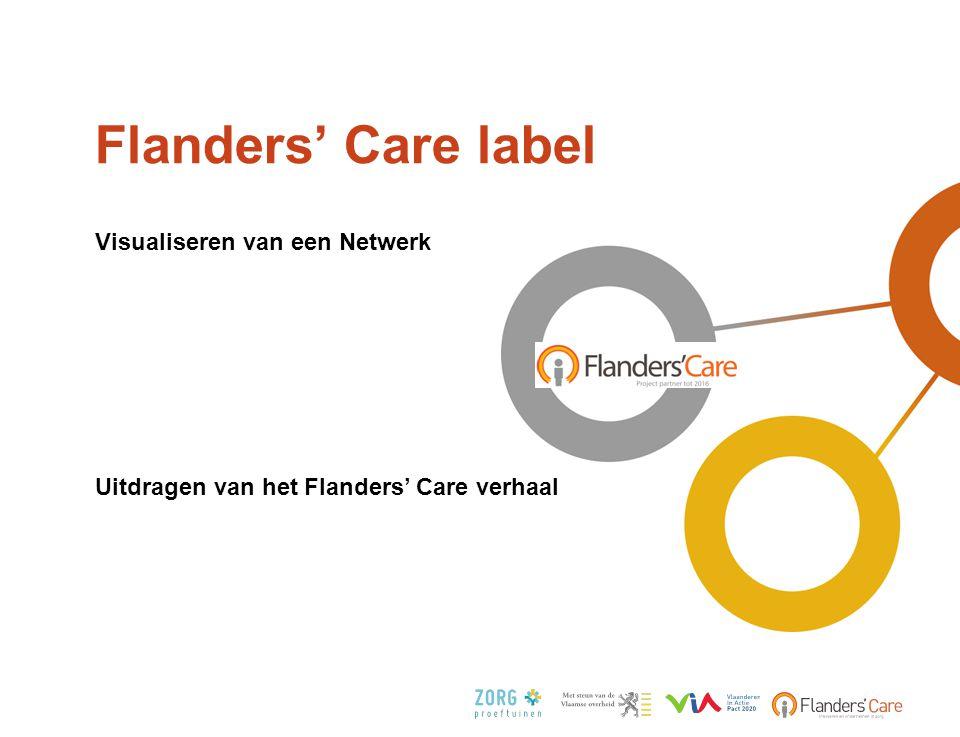 Flanders' Care label Visualiseren van een Netwerk