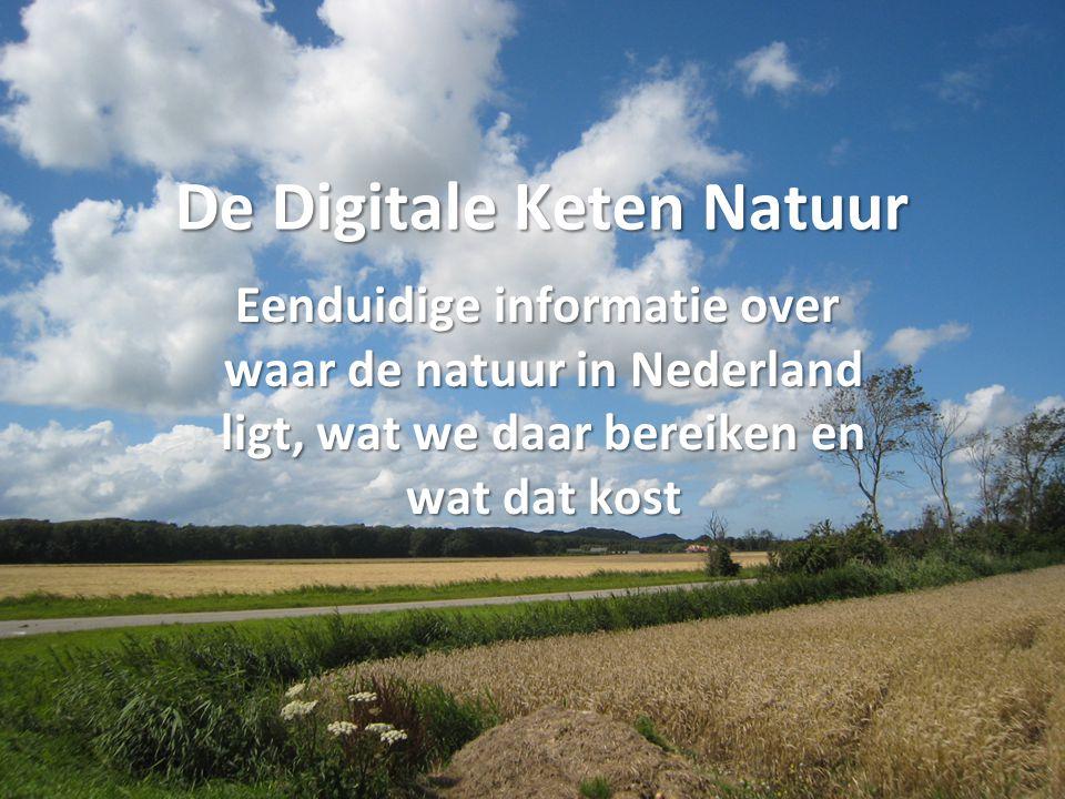 De Digitale Keten Natuur
