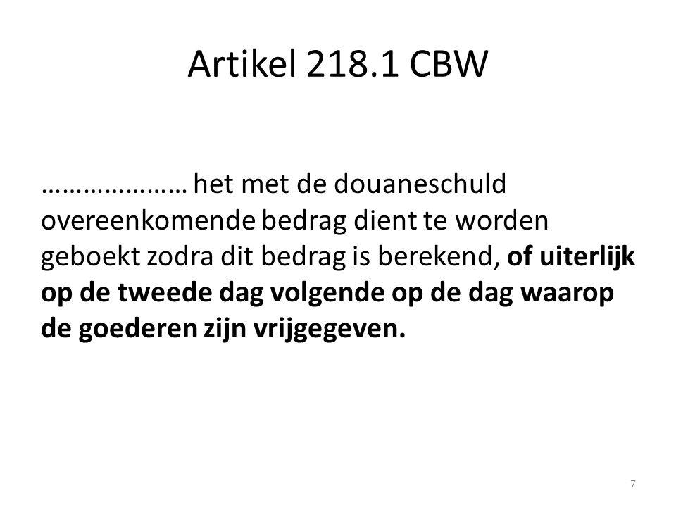 Artikel 218.1 CBW