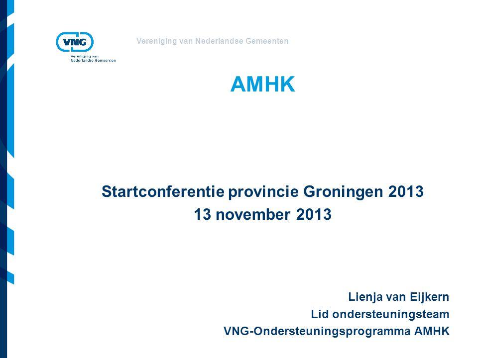 Startconferentie provincie Groningen 2013