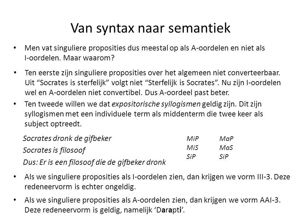 Van syntax naar semantiek
