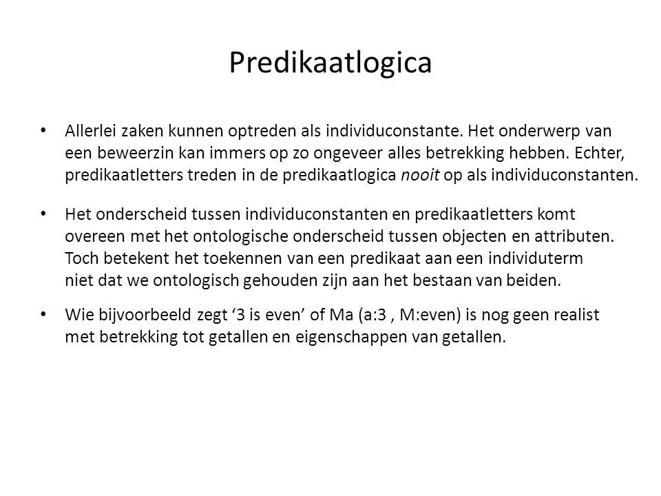 Predikaatlogica