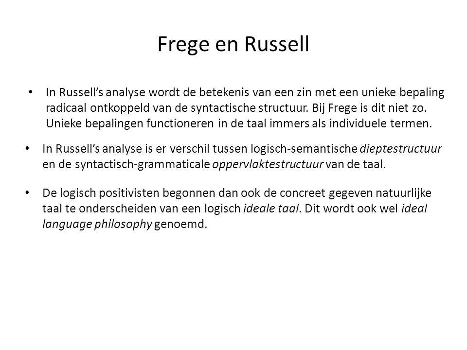 Frege en Russell
