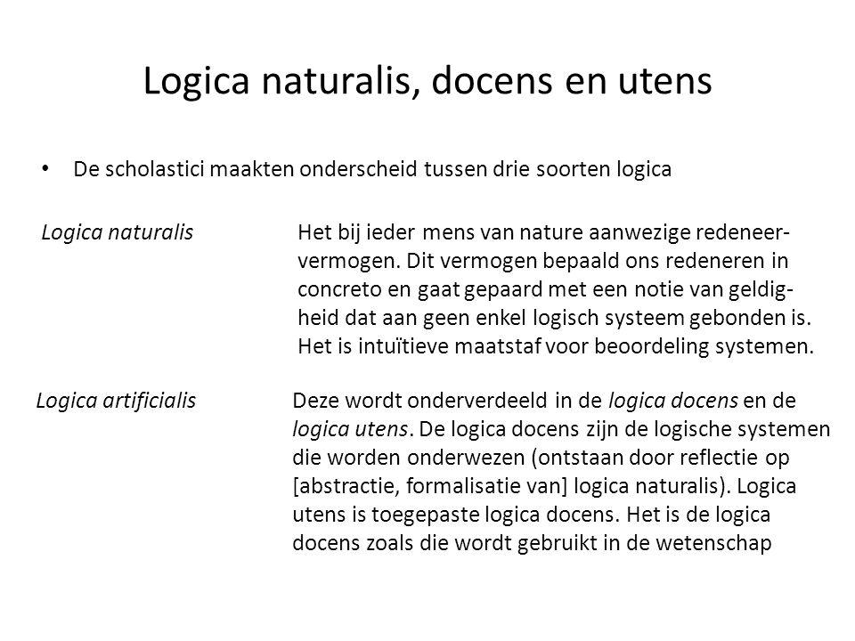 Logica naturalis, docens en utens