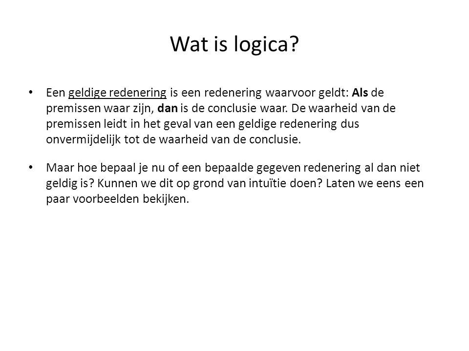 Wat is logica