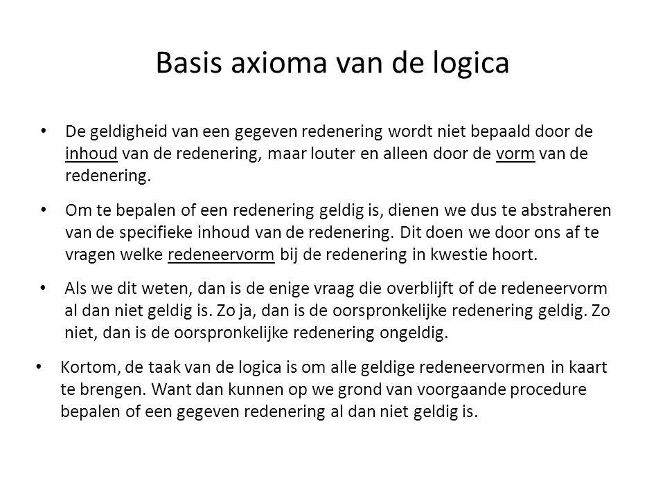 Basis axioma van de logica
