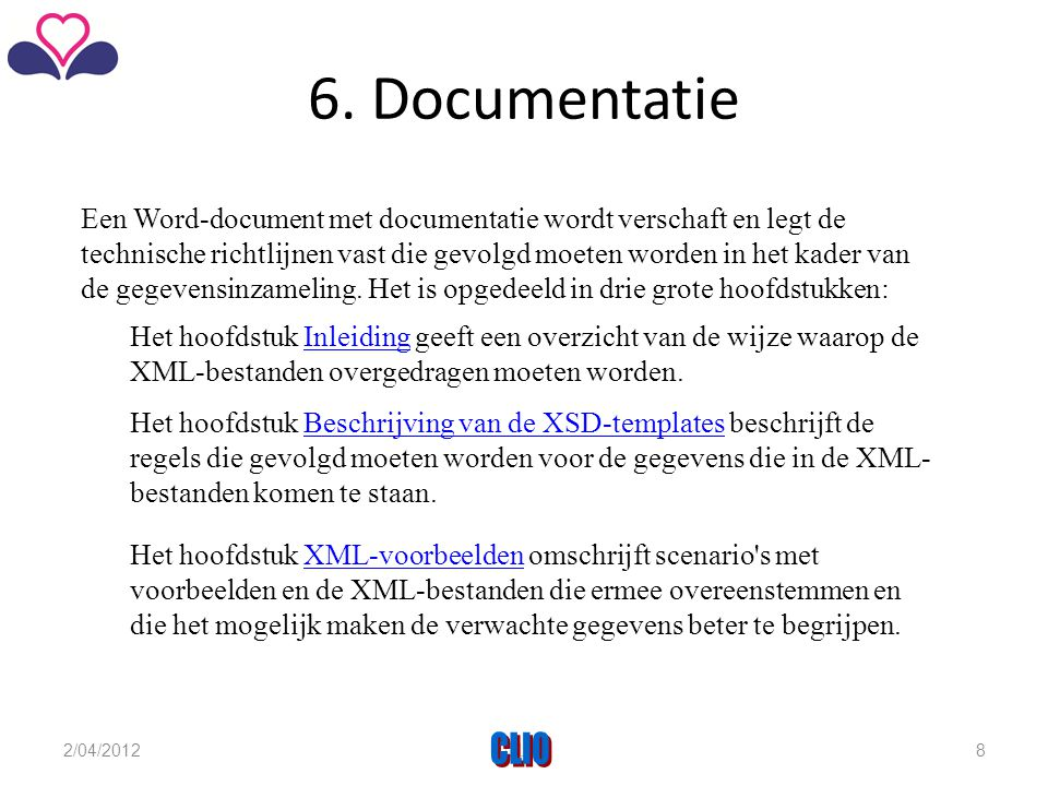 6. Documentatie