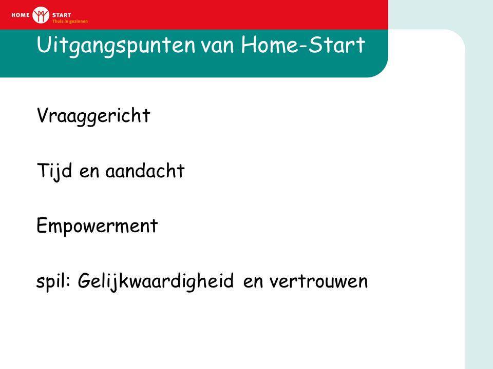 Uitgangspunten van Home-Start