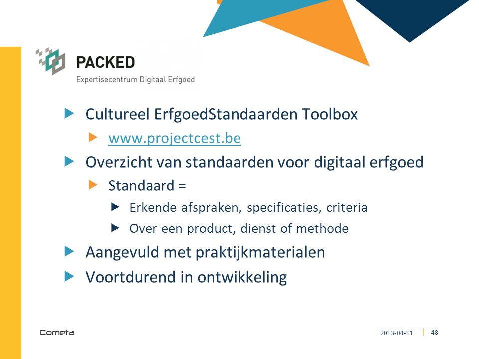 CEST Cultureel ErfgoedStandaarden Toolbox