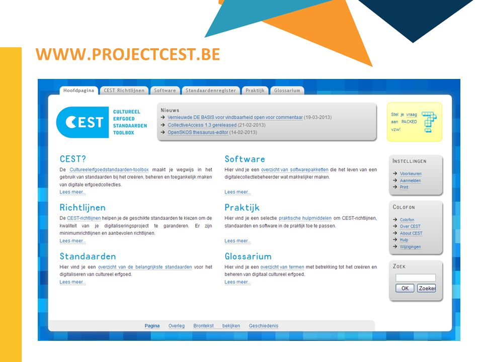 www.projectcest.be