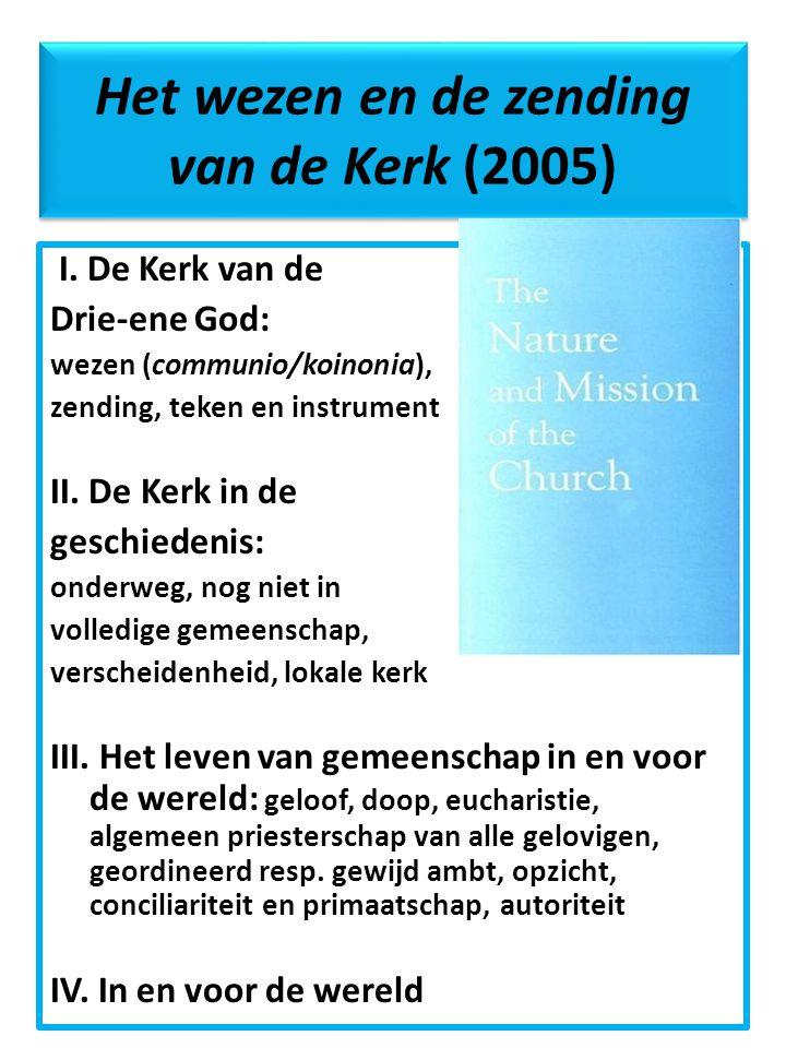 Het wezen en de zending van de Kerk (2005)