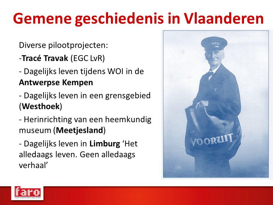 Gemene geschiedenis in Vlaanderen
