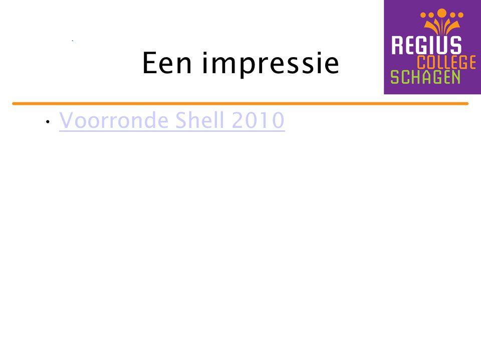 Een impressie Voorronde Shell 2010