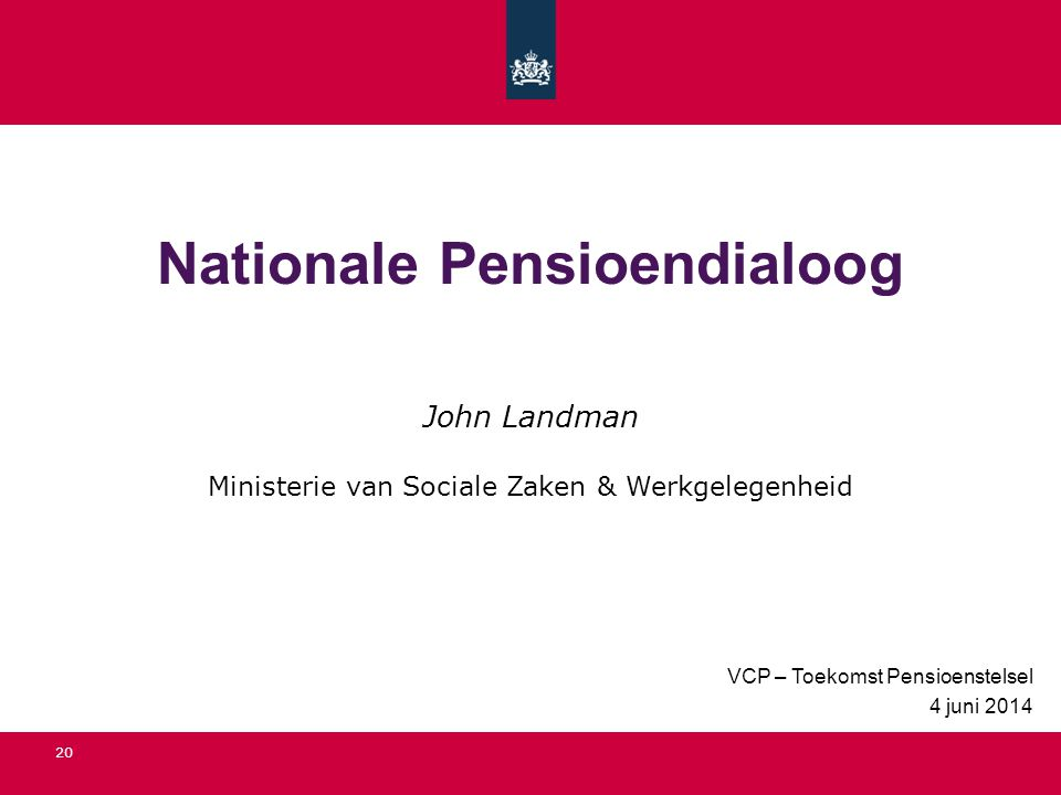Nationale Pensioendialoog