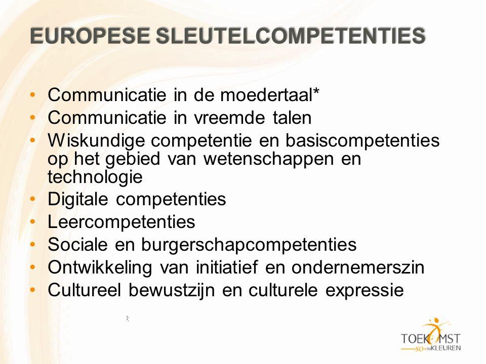 Europese sleutelcompetenties