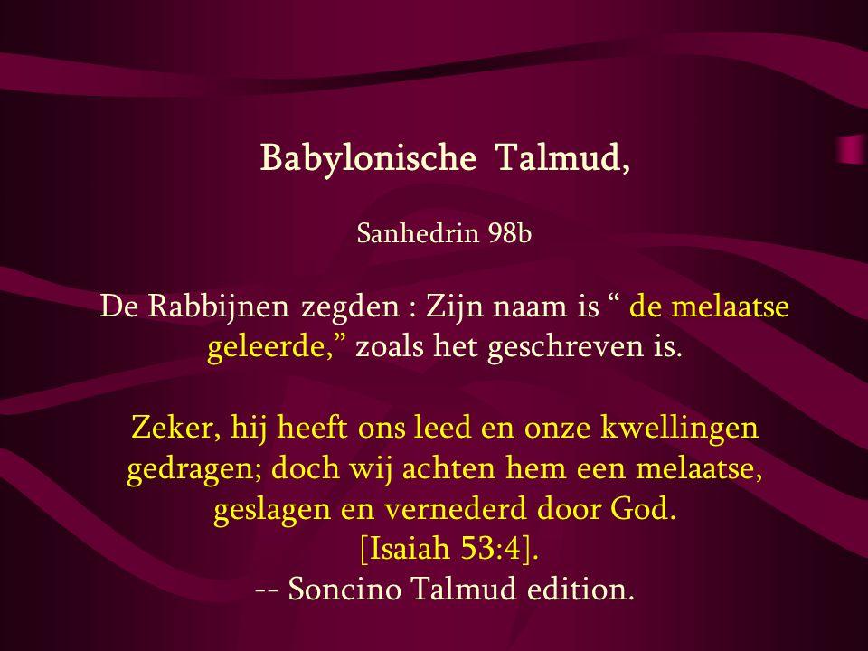 -- Soncino Talmud edition.