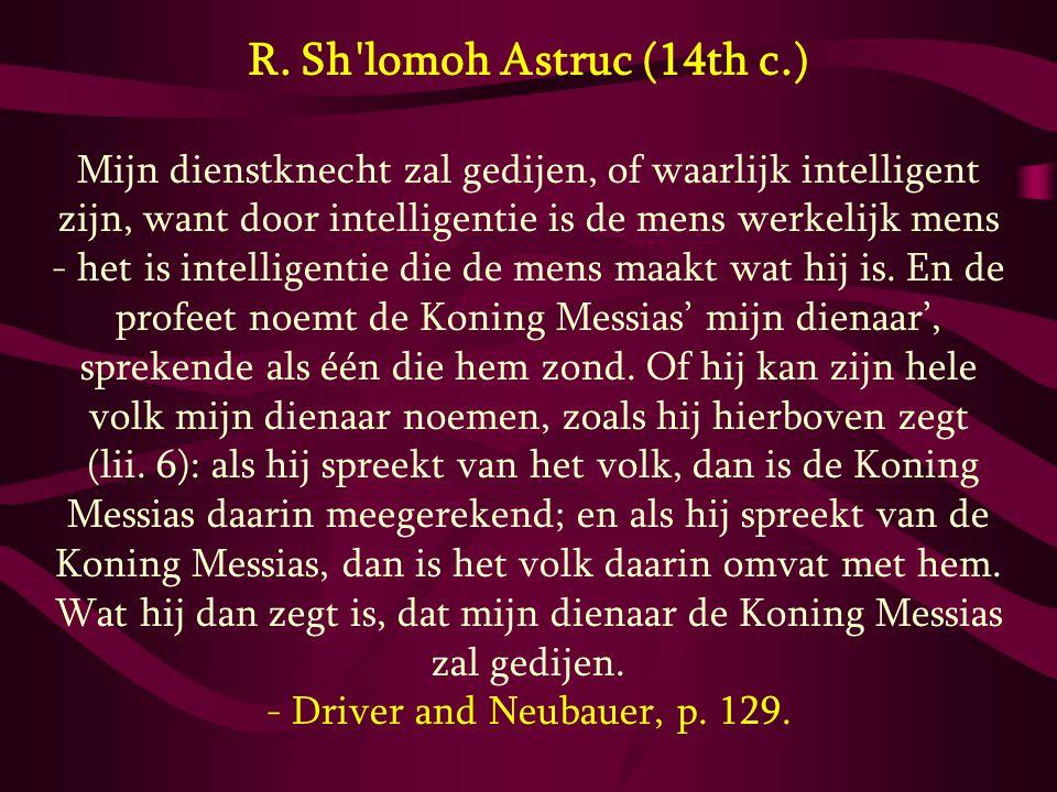 R. Sh lomoh Astruc (14th c.)