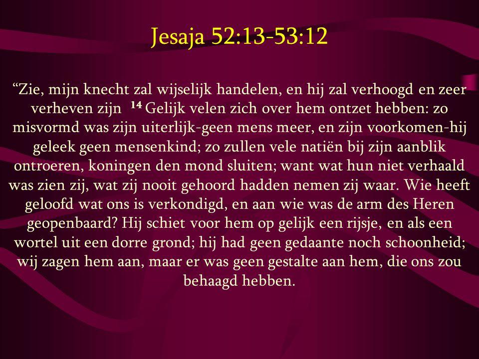 Jesaja 52:13-53:12