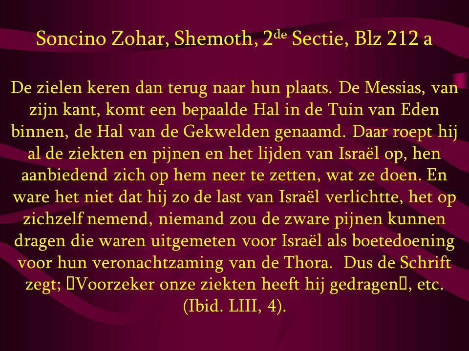 Soncino Zohar, Shemoth, 2de Sectie, Blz 212 a