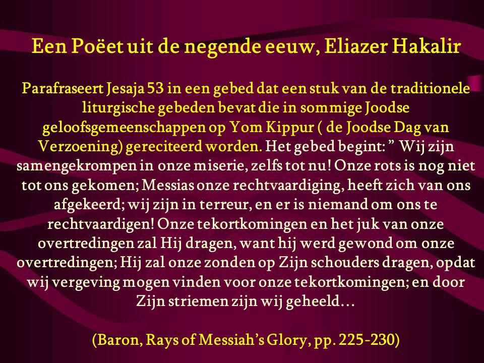 (Baron, Rays of Messiah's Glory, pp. 225-230)
