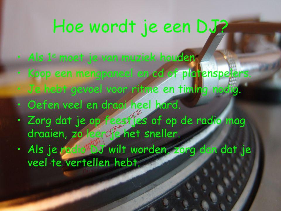 Hoe wordt je een DJ Als 1e moet je van muziek houden