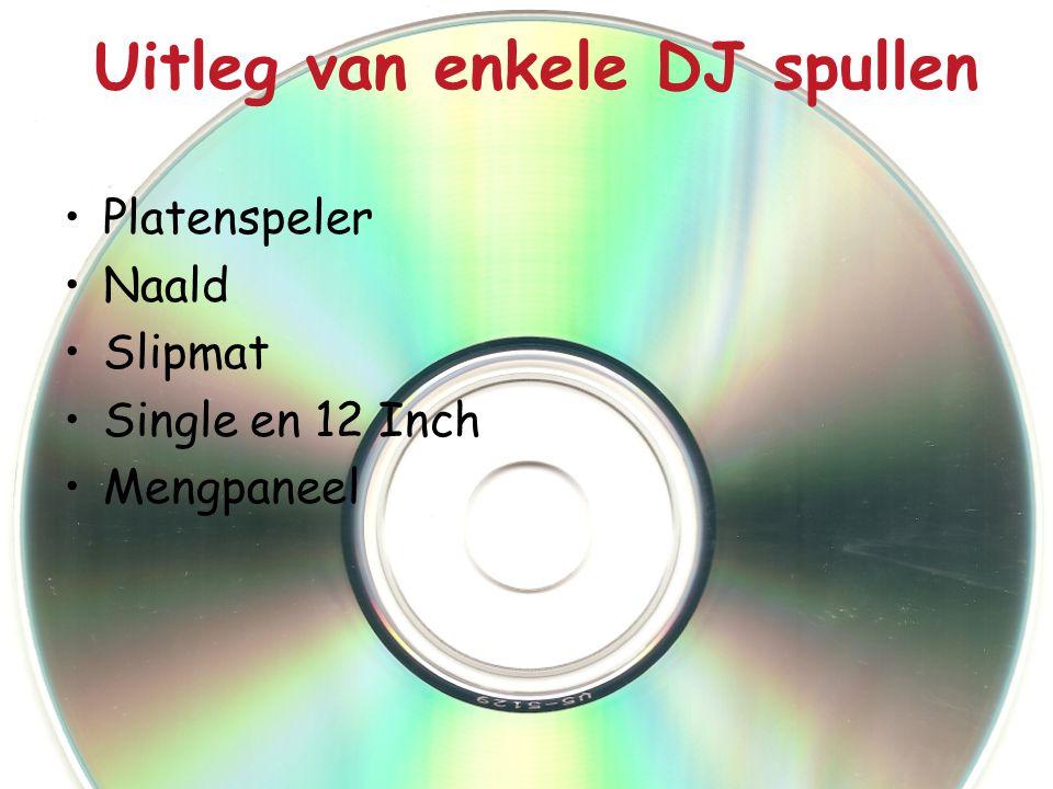 Uitleg van enkele DJ spullen