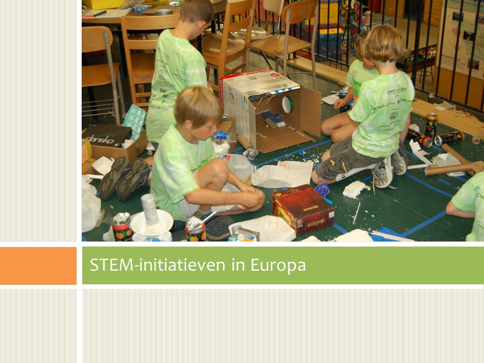 STEM-initiatieven in Europa