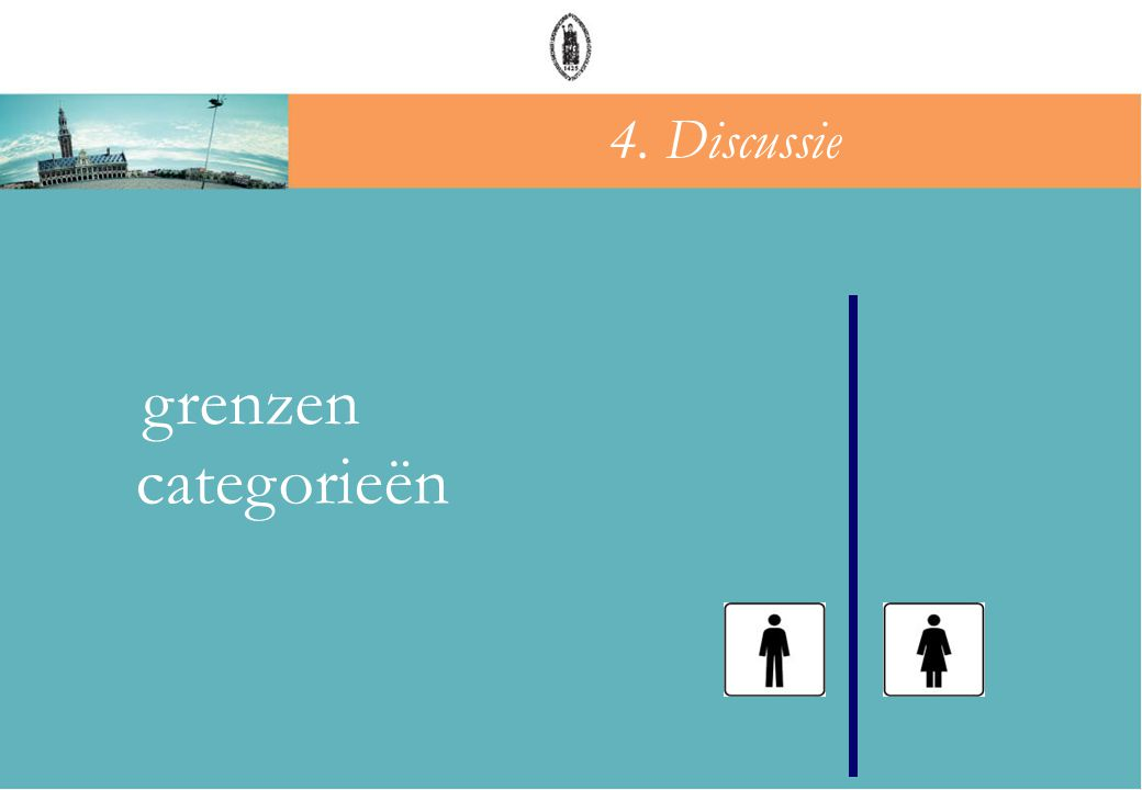 4. Discussie grenzen categorieën