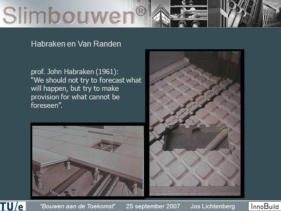 Habraken en Van Randen prof. John Habraken (1961):
