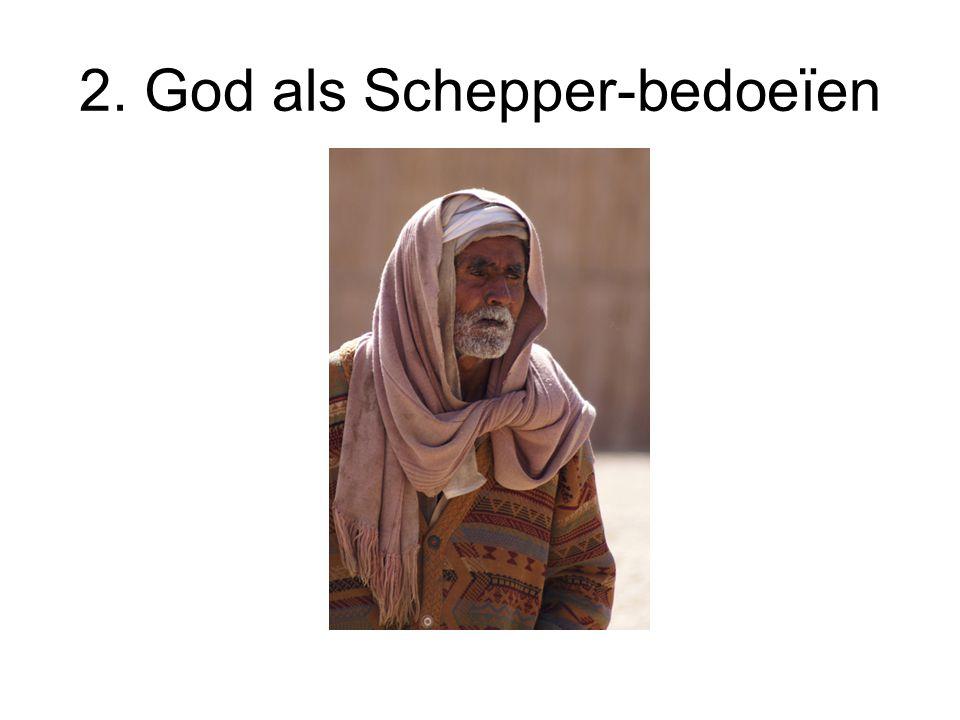 2. God als Schepper-bedoeïen