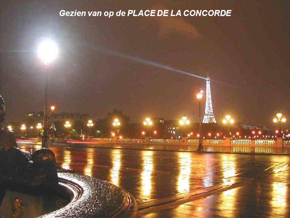 Gezien van op de PLACE DE LA CONCORDE
